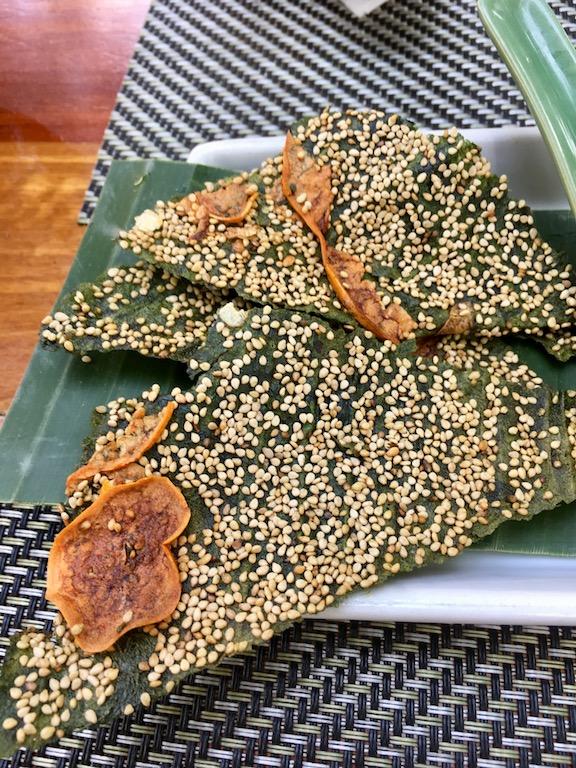 Tipps & Infos: Laotische Küche: Flussalgen - Khai Pene