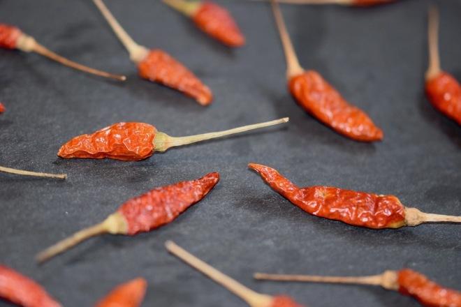 Tipps & Infos: Chilis: Rote Bird-Eye-Chili - getrocknet