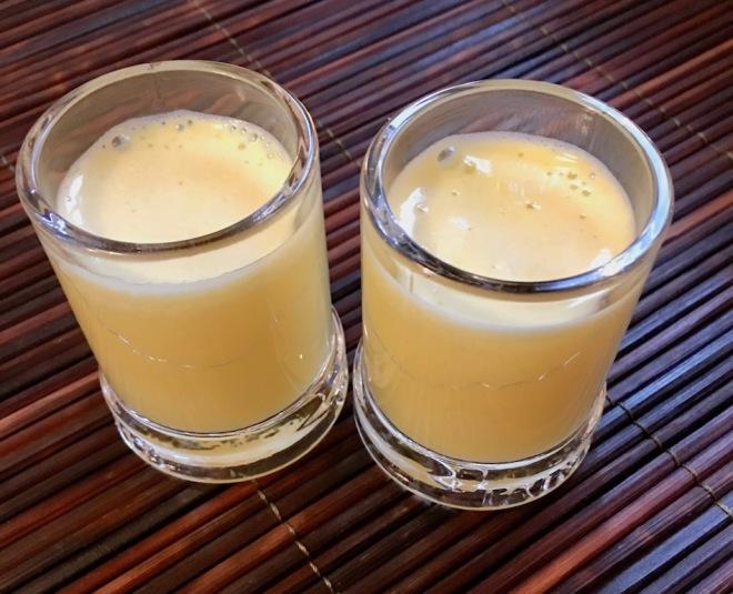 Ingwer Shot - Ingwer - Entsafter - Rezept - abnehmen - selber machen - Getränk - gesund - gegen Erkältung