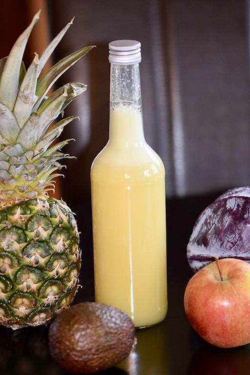 Rezepte: Smoothies & Getränke: Ingwer Shot in Flasche