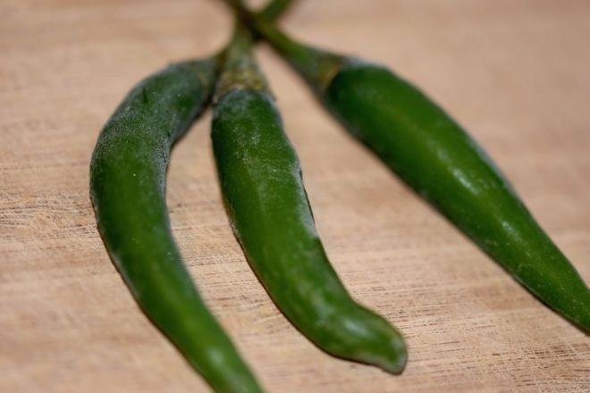 Tipps & Infos: Chilis: grüne Thai-Chilis