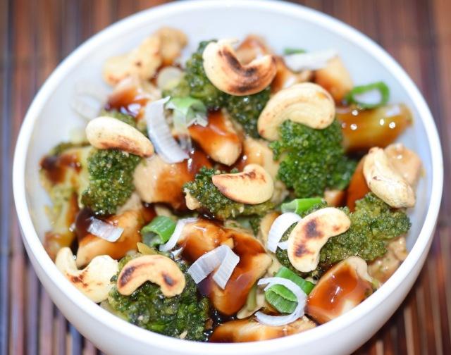 Teriyaki-Huhn mit Brokkoli