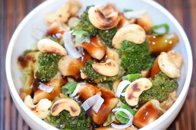 Rezepte: Hauptgerichte: Teriyaki-Huhn mit Brokkoli