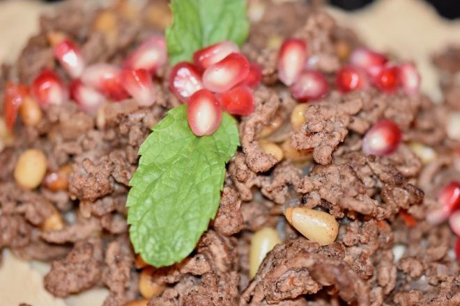 orientalischeszimthackfleisch - orientalischeküche -orientalischeshackfleisch - hack - rezepte - zimt - gewürze - lamm - rind - schnellundeinfach - levantinischeküche