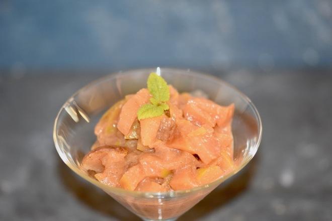 Apfelkompott - schnell - einfach - ohne Zucker - mit Zimt - Äpfel mit Schale - Rezepte - selber machen - haltbar - einkochen - einfrieren