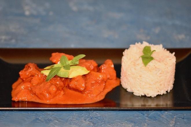 Maya-Gulasch - Gulasch - mexikanisch - Cochinita Pibil - Schweinefleisch - Marinade - Anattosamenpaste - pasta de achiote - Rezept - Orangen - Limetten - traditionell