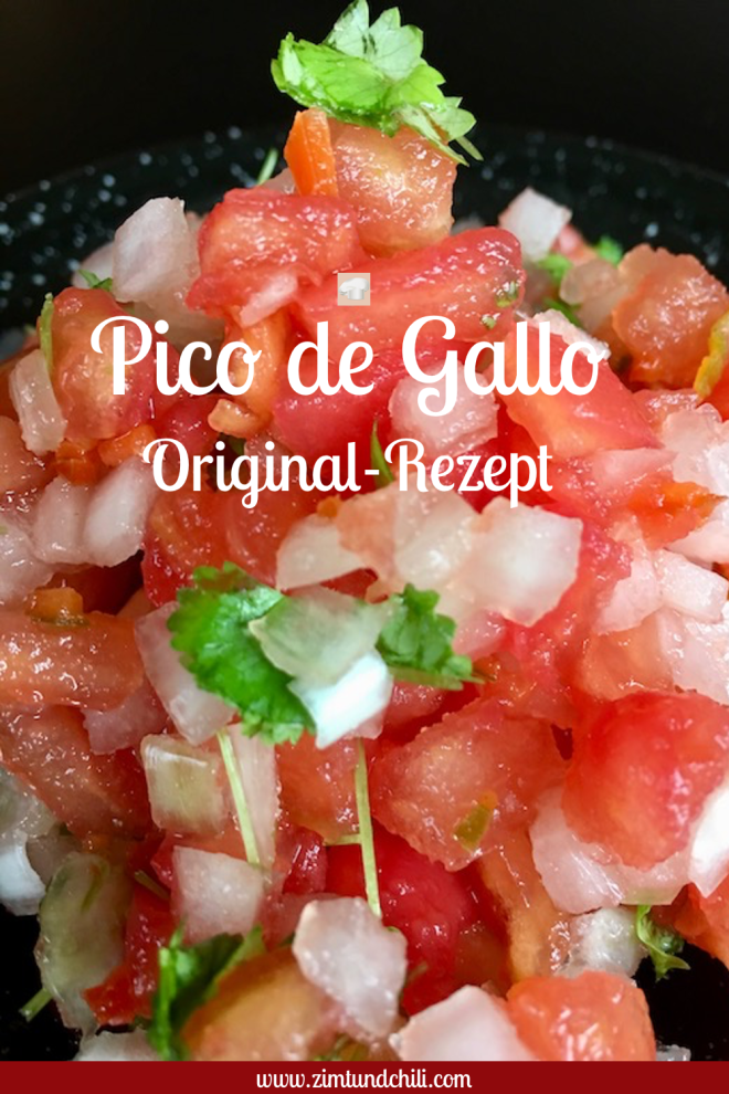 Pico de Gallo - Dalsa - original - deutsch - Rezept - mexikanisch - Dip