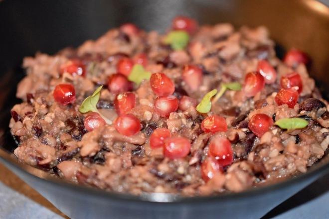 Lobio - georgischer Bohneneintopf - Rezept - glutenfrei - georgische Küche - Kidneybohnen - rote Bohnen - Eintopf - einfach - gesund - traditionell - vegane Variante