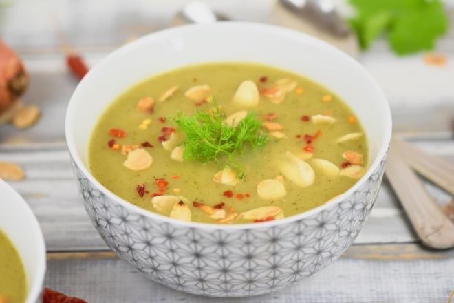 Fenchel-Zucchini-Suppe aus dem Slowcooker