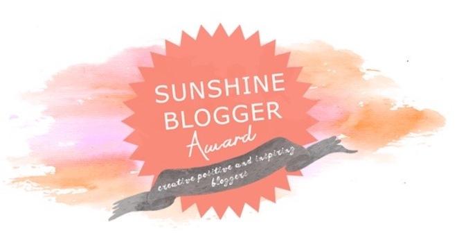 Sunshine Blogger Award - Logo