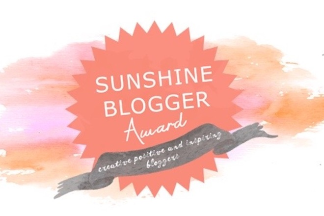 Sunshine Blogger Award - Logo