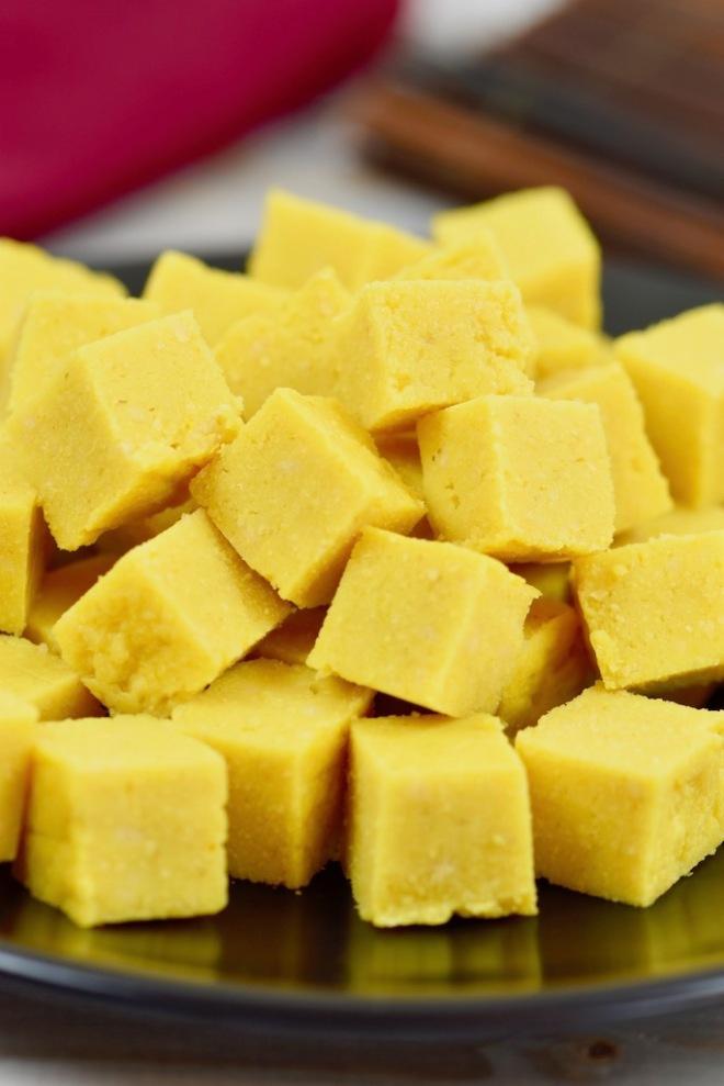 burmesischer Kichererbsen-Tofu - Shan-Tofu - burmesischer Tofu - selber machen - birmanischer Tofu - Kichererbsen-Tofu - Rezept - vegan - ohne Soja - Tofu - einfach - glutenfrei - Verwendung