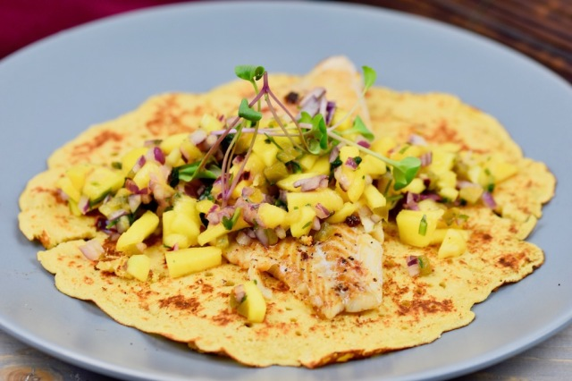 Boone-Food – Fisch-Tacos mit Mangosalsa